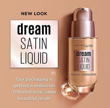 Maybelline Dream Satin Liquid Foundation Choose Shade