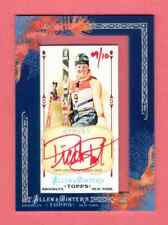 PICABO STREET 2011 TOPPS ALLEN & GINTER'S AUTOGRAPH RED INK AUTO HER # 9 /10 USA
