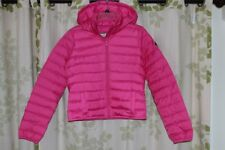 Abercrombie&Fitch A&F Jody Women's Down Puff Hooded Jacket Coat $150 Pink NEW M