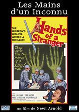 DVD Les mains d'un inconnu (Hands Of A Stranger) - 1962