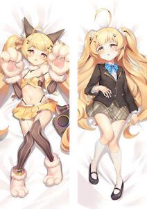 Anime Azur Lane Easeful Pillow Bed Pillow Hugging Body Pillow Case 50x150cm