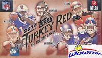 2014 Topps Turkey Red Football HOBBY Box-RC AUTOGRAPH! Garoppolo,Carr RC Year!