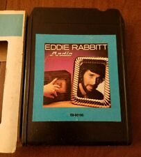 EDDIE RABBITT RADIO ROMANCE 1982 ELEKTRA RECORDS 8 TRACK TAPE E8-60160 TESTED