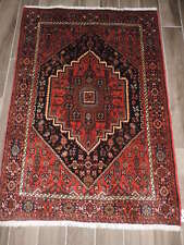 3x5ft. Vintage Handmade Bijar Wool Rug