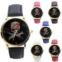 Fashion Women Casual Leather Band Analog Quartz Vogue Wrist Watches Hot Sell