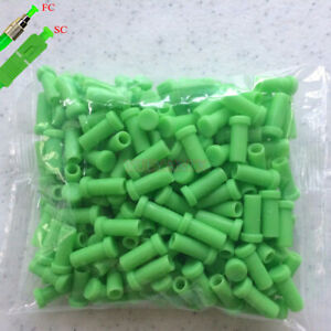 200pcs Fiber Optic Cable Dust Cap Protector ST/SC/FC Dust Cover Clean Connector