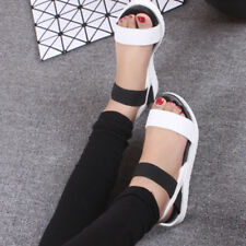 WOMEN NEW FLAT LOW WEDGE HEELS ESPADRILLES BOHO SUMMER LADIES SANDALS SHOES SIZE