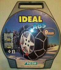 Cadenas para el hielo y la nieve de aro flexible PICOYA , ideal ABS , Nº 5