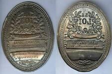 Plaque de métier - DENNEULIN GARDE CHASSE du Marquis de VENNEVELLES