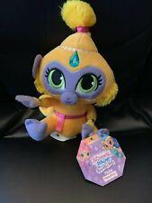 "Shimmer & Shine Sparkle Pets Tala Monkey Plush Stuffed Animal Doll 8"" New"