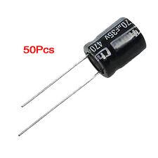 50 pcs 470uF 35V AlumInum Electrolytic Capacitors 10x13mm LW SZUS