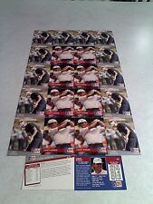 *****Larry Rinker*****  Lot of 37 cards.....3 DIFFERENT / Golf