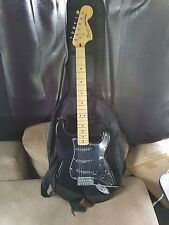 Squier by Fender Vintage Modified 70's Stratocaster Electric Guitar - Black