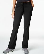 New $115 Columbia Women's Black Boot Cut Cargo Outdoor Hiking Pants Size 16