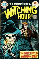 THE WITCHING HOUR #54 DC Comics May 1975 Comic Book VG