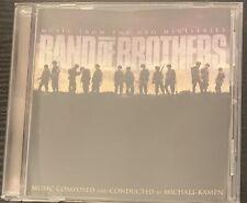 Band of Brothers Original Tv Soundtrack Cd Score by Michael Kamen Hbo