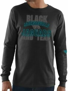 Jacksonville Jaguars Men's Primary Receiver Long Sleeve Shirt - Black