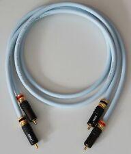 Supra Cables EFF ISL Cinchkabel mit PPSL RCA Stecker verspannbar Audiokabel 2,5m