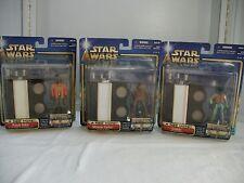 Star Wars Cantina Bar SET A NEW HOPE Greedo Momaw Nadon Ponda Baba 2002
