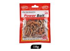 (99,50€/100g)Power Bait gefriergetrocknete Köder Sandwurm Wattwurm Seeringelwurm
