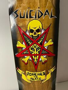 Dogtown Skateboard Suicidal Possessed To Skate DECK