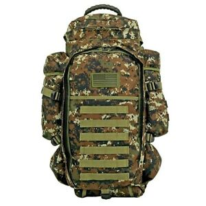 EastWest 911 Tactical Full Gear Rifle Combo Backpack Gun Bag MOLLE Green Dig Cam