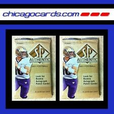 2x Lot 2011 Upper Deck SP Authentic FB HOBBY Pack Cam Newton Jersey/Patch Auto?