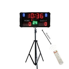 Led Basketball Scoreboard Digital Portable Game Electronic Scoreboard With Stand