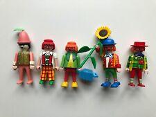 Playmobil Circus, group of Clowns 3319, 3392, 4238, 4894, Zirkus, Circo rare