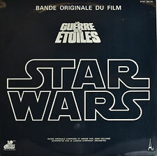 "Star Wars - LA GUERRE DES ETOILES - John Williams 12 "" 2 LP (Q389)"