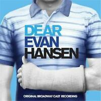 Dear Evan Hansen Original Broadway Cast Recording CD NEW