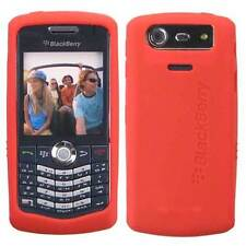 Original NEW Blackberry PEARL Orange Silicon Gel Skin Case for 8110 8120 8130