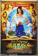 ELLA ENCHANTED ROLLED ORIG 1SH MOVIE POSTER ANNE HATHAWAY FAIRY TALE (2004)
