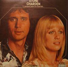 """STONE & CHARDEN l'amour pas la charité/on s'habitue SP 7"""" 1974 VG++"""