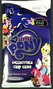 My Little Pony CCG Enterplay Booster Packs Lot of  18 Packs New Sealed