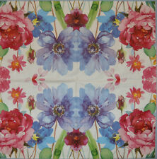 PAPER TABLE NAPKINS MEADOW FLOWERS FOR CRAFT DECOUPAGE TEA PARTIES 183