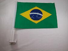 Closeout Brasil Bandeira Soccer Car Window Flag FIFA Futbol  Brazil Championship