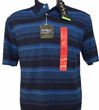 eee8e838 PGA Tour Mens Airflux ProSeries Polo French Blue Golf Shirt (large L)