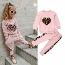 Girls Clothing Set Modern Kids Outfit Leopard Fashion Baby Clothing Child Set