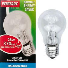 10 X ALOGENA ENERGY SAVER 28w 36w ES e27 Alogena Gls Globe Lampada Chiara Lampadina