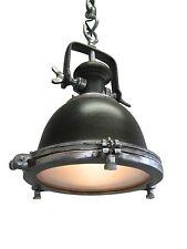 PLAFONIERA LOUISE INDUSTRIALE RUGGINE DECORAZIONE MARRONE LAMPADA DI FABBRICA