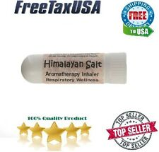 Himalayan Travel Salt Air Inhaler For Asthma, Sinus coughing Allergies Relief