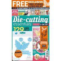 DIE CUTTING ESSENTIALS MAGAZINE ISSUE 28 + FREE TONIC STUDIOS PEACE DOVE DIE SET