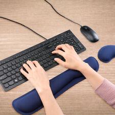 Resto de muñeca teclado de espuma de memoria Pad Mouse Pad Con Apoyo Muñeca Para Computadora