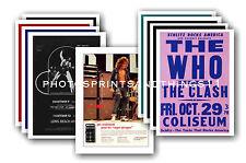 The Who - 10 promocional pósters - coleccionable juego de postales # 2