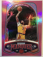 2019-20 Panini Chronicles Marquee Anthony Davis Pink Base Card #260 LAKERS HOTTT