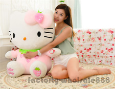 32'' Big Hello Kitty Plush Toy Huge Soft Cat Stuffed Doll Kid Birthday Gift 80CM