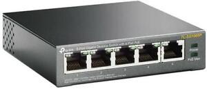 TP-Link TL-SG1005P 5-Port Gigabit Desktop PoE Switch with 4-Port 56 Watt UK