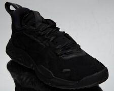 Jordan Delta Premium Men's Black Grey Volt Low Athletic Lifestyle Sneakers Shoes