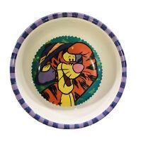 Vintage Zak Designs Winnie Pooh Tigger Melamine Children's Bowl